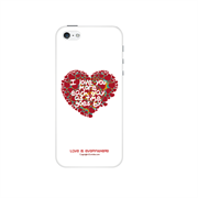 Чехол-накладка Artske для iPhone SE/5/5S Uniq case Heart