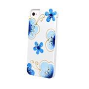 Чехол-накладка iCover для iPhone SE/5/5S Cherry Blossoms ручная роспись