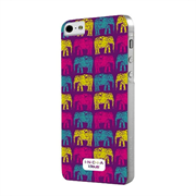 Чехол-накладка India для iPhone SE/5/5S Hard Elephants Purple (COINDIP5ELPU)