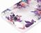 Чехол-накладка Guess для iPhone 6/6S BLOSSOM Hard TPU Transparent Flower (Дизайн: Цветы) - фото 17048