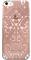 Чехол-накладка Lacroix для iPhone 5S/SE Paseo transparent Hard Rose gold (Цвет: Розовое золото) - фото 17138