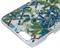 Чехол-накладка Lacroix для iPhone 6/6S CANOPY Malachite (Цвет: Белый с цветами) - фото 17158
