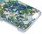 Чехол-накладка Lacroix для iPhone 6/6S CANOPY Malachite (Цвет: Белый с цветами) - фото 17159