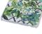 Чехол-накладка Lacroix для iPhone 6/6S CANOPY Malachite (Цвет: Белый с цветами) - фото 17160