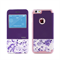 Чехол-книжка Remax Aimer Series Flowers Design для iPhone 6/6s - фото 6988