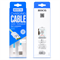 Кабель для iPhone/iPad HOCO Apple Two Side Jelly Cable 120см - фото 7157
