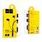 Наушники-вкладыши HOCO Wire Earphone, гарнитура+управление без громкости - фото 7945